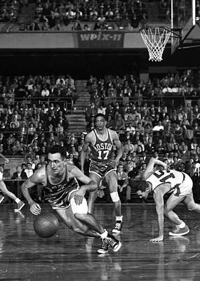 Photograph - Boston Celtics - New York Knicks by New York Daily News Archive