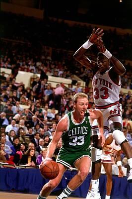 Photograph - Boston Celtics V New York Knicks by Nathaniel S. Butler