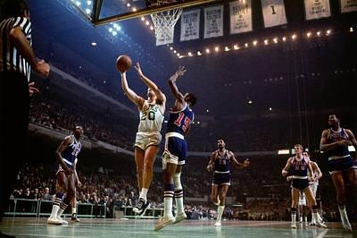 Photograph - Boston Celtics Vs. Philadelphia 76ers by Dick Raphael