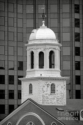 Photograph - Boston Faneuil Hall Bell Tower by Olivier Le Queinec