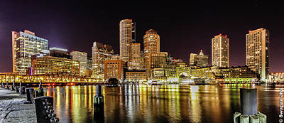 Photograph - Boston Harbor by (c) Swapan Jha