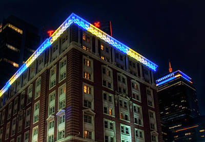 Photograph - Boston Marathon Colors - The Lenox Hotel by Joann Vitali