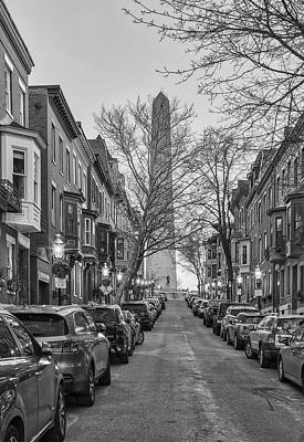 Photograph - Boston Monument Avenue by Juergen Roth