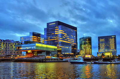 Photograph - Boston Seaport - Institute Of Contemporary Art by Joann Vitali