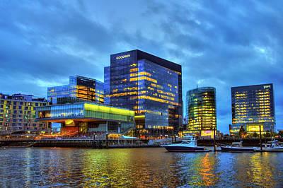 Photograph - Boston Seaport - Institute Of Contemporary Art by Joann Vitali