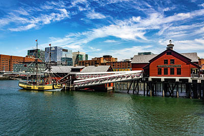 Photograph - Boston Series 4870 by Carlos Diaz