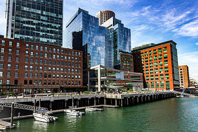 Photograph - Boston Series 4873 by Carlos Diaz