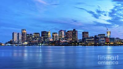 Photograph - Boston Skyline 7-21-19 by Mark Brennan