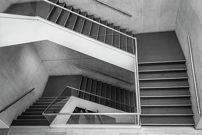 Photograph - Boston Stairs Series 6031 by Carlos Diaz