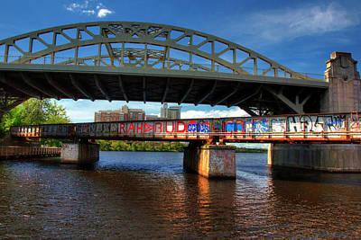 Photograph - Boston University Bridge by Joann Vitali