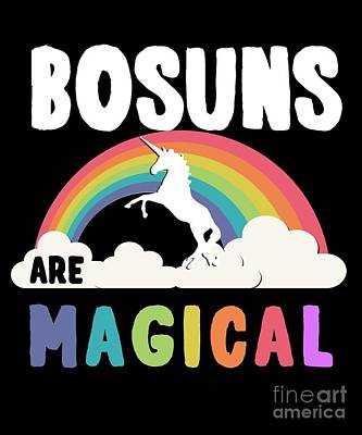 Digital Art - Bosuns Are Magical by Flippin Sweet Gear