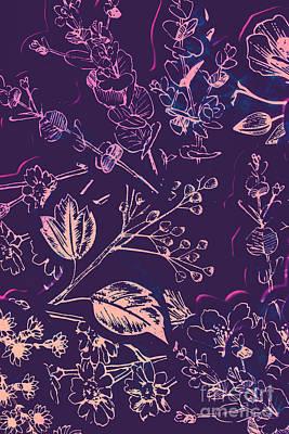 Floral Arrangement Photograph - Botanical Branching by Jorgo Photography - Wall Art Gallery