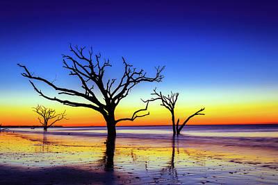 Edisto Island Photograph - Botany Bay Sunrise by Serge Skiba