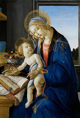 Painting - Botticelli Madonna by Granger
