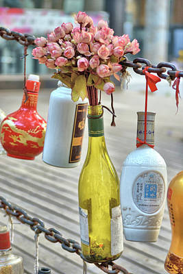 Photograph - Bottle O'posies by JAMART Photography