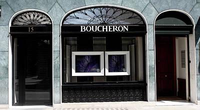 Photograph - Boucheron by Aidan Moran