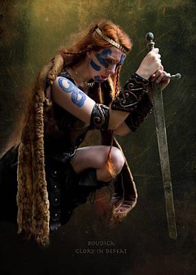 Photograph - Boudica Glory In Defeat by Doug Matthews