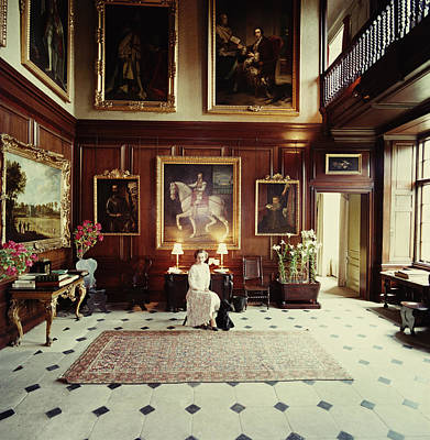 Dog Photograph - Boughton House by Slim Aarons
