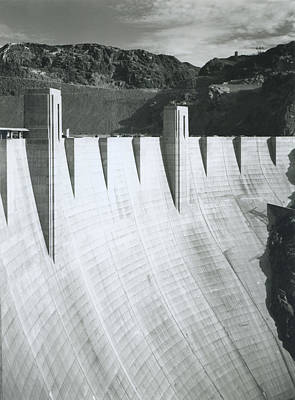 Photograph - Boulder Dam Power Unit, 1941 by Archive Photos