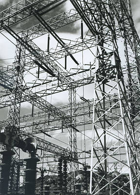 Photograph - Boulder Dam Power Units, 1941 by Archive Photos