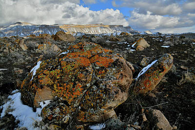 Photograph - Boulders In The Shadows At Book Cliffs by Ray Mathis