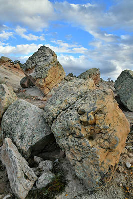 Photograph - Boulders Of The Bentonite Site In Grand Junction by Ray Mathis