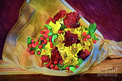 Painting - Bouquet A18-171 by Ray Shrewsberry