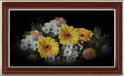 Digital Art - Bouquet For You by Clive Littin