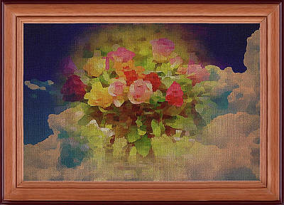 Mixed Media - Bouquet From  God by Clive Littin