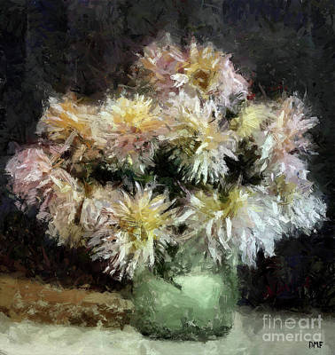 Just Desserts - Bouquet of Spider Chrysanthemum by Dragica Micki Fortuna