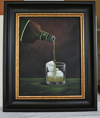 Painting - Scotch by Gloria Johnson
