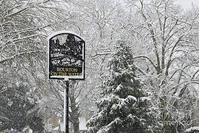 Photograph - Bourton On The Water In Winter by Tim Gainey