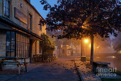 Photograph - Bourton On The Water October Morning by Tim Gainey