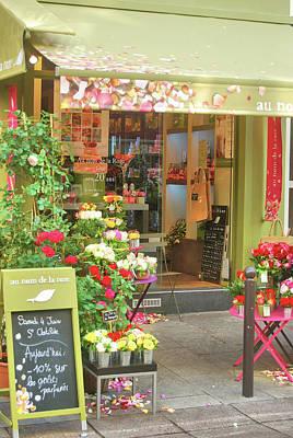 Photograph - Boutique De Fleurs by JAMART Photography