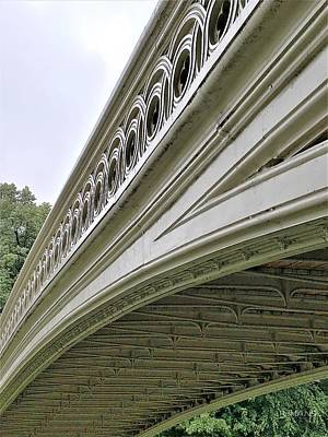 Photograph - Bow Bridge Side by Rob Hans
