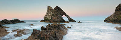 Photograph - Bow Fiddle Rock Sunset - Port Knockie by Grant Glendinning