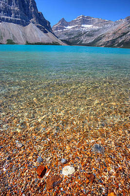 Photograph - Bow Lake by David Andersen