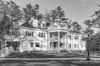 Photograph - Bowdoin College Baxter House by University Icons