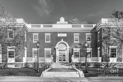 Photograph - Bowdoin College Moulton Union by University Icons