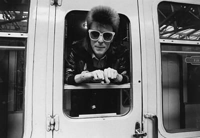 Photograph - Bowie On The Rails by Smith