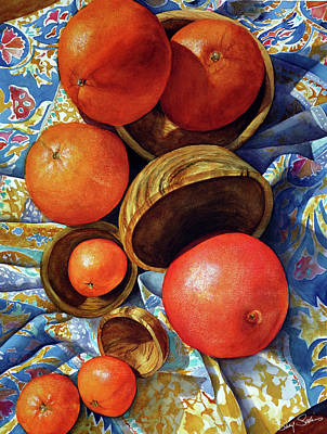 Oranges And Olive Wood Original