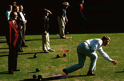 Photograph - Bowling Green by Slim Aarons