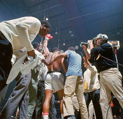 Photograph - Boxer Cassius Clay, Aka Muhammad Ali by John Dominis