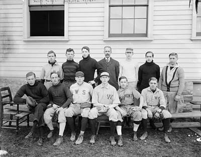 Painting - Boys School Baseball  1906 Harris  Ewing by Celestial Images