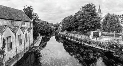 Photograph - Bradford On Avon And River by John McGraw