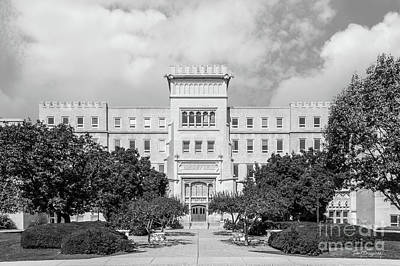 Photograph - Bradley University Bradley Hall by University Icons
