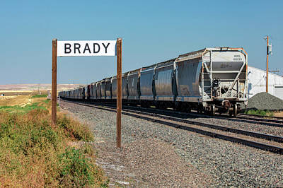 Photograph - Brady Railroad by Todd Klassy