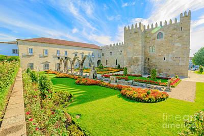Photograph - Braga Episcopal Palace by Benny Marty