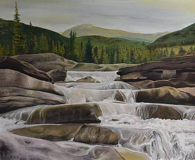 Painting - Bragg Creek by Barbel Smith