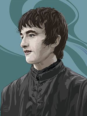 Comics Royalty-Free and Rights-Managed Images - Bran Stark by Garth Glazier